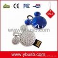 jewelry heart usb flash drive
