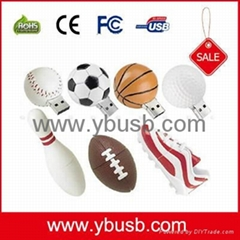 Sports Football USB Flash Drive