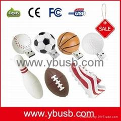 Sports Football USB Flas
