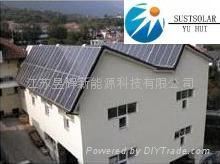 Solar Hot Water Heater Project 2