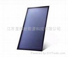 进口蓝钛平板太阳能集热器