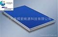 Import blue titanium plate solar energy collector  2