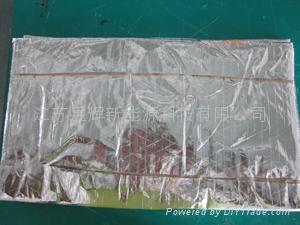 Import blue titanium plate solar energy collector  3