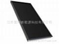 Homebred black chromium flat collector