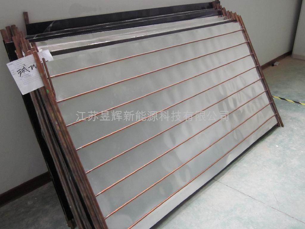 Homebred black chromium flat collector  3