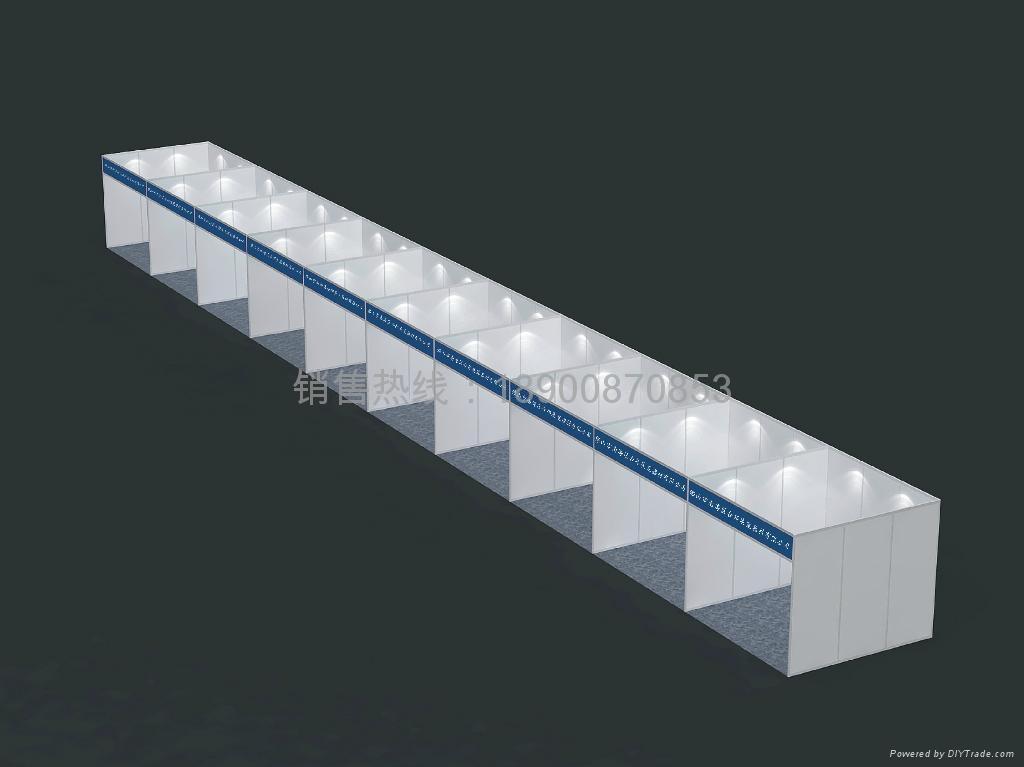 八棱柱标准展位材料 2