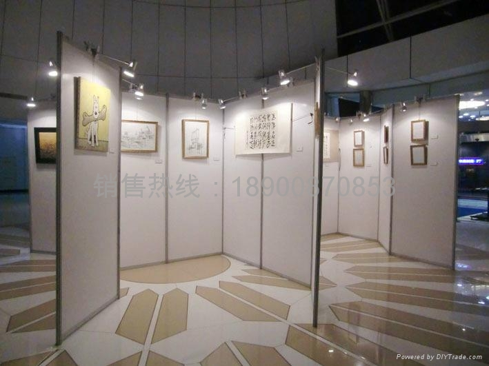 展览展板八棱柱展板 1