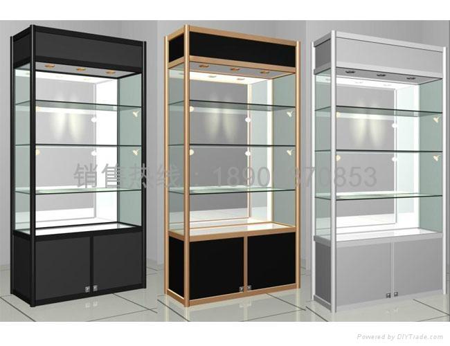 精品展示櫃鈦合金貨架 1