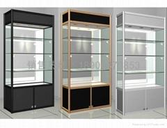 精品展示柜钛合金货架