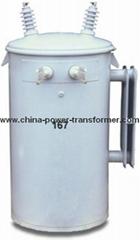 Single PhasesPole Mounted Transformer