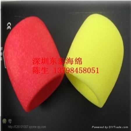深圳供應話筒海綿 4