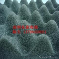 深圳供应波浪吸音海绵
