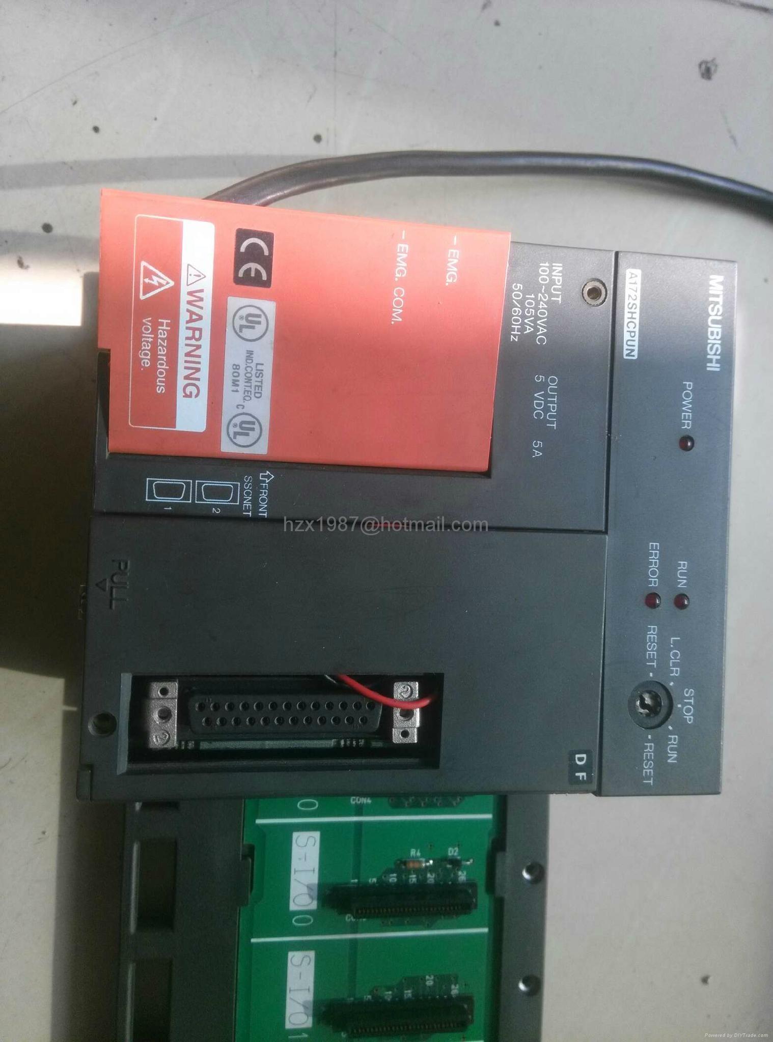 专业维修三菱CPU, A172SCPUN   A171CPU / A171SCPUN ,提供新泻机程序 2