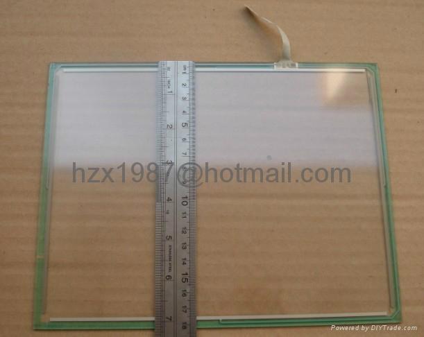 销售工控屏触摸玻璃板4线,5.7寸, 8.4寸, 10.4寸, 12.1寸 5