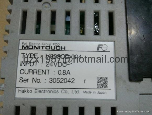 FUJI HMI, V810C,810CD,V810iC,V810iCD ,Black screen... 4