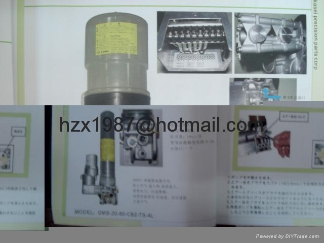 grease pump ,GMS-20-80-TS-3P ,Textile machine , GMS-20-80-CBF 6