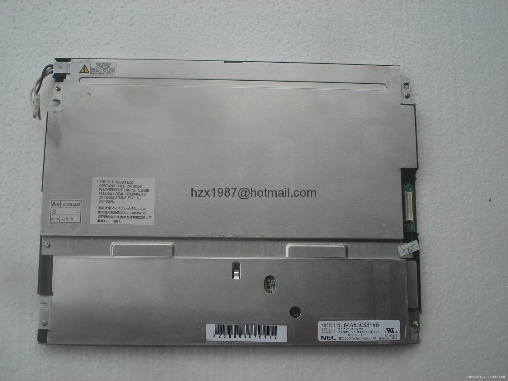 销售NEC液晶屏NLB150XG01L-01 , NLB150XG01-42 ,nl6448ac33-18 8