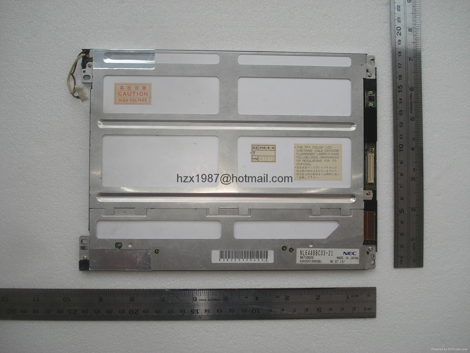 销售NEC液晶屏NLB150XG01L-01 , NLB150XG01-42 ,nl6448ac33-18 12