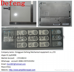 sell Toshiba machine monitor parts V10 S10 V30  V21 lcd display ,touch panel