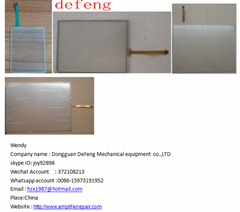 sell glass touch panel ,