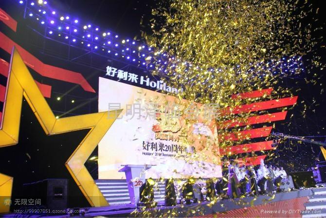 雲南昆明電腦燈出租、燈光音響租賃、LED電子屏出租、舞臺桁架租賃 5