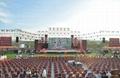雲南昆明P5LED顯示屏出租、燈光音響租賃、LED電子屏出租、舞臺桁架租賃 4