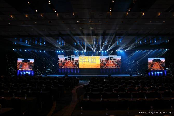 昆明LED屏出租\租賃、P6、P5 、P4屏租賃 5