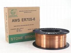 廠家直銷二氧化碳氣體保護焊絲 ER70S-6
