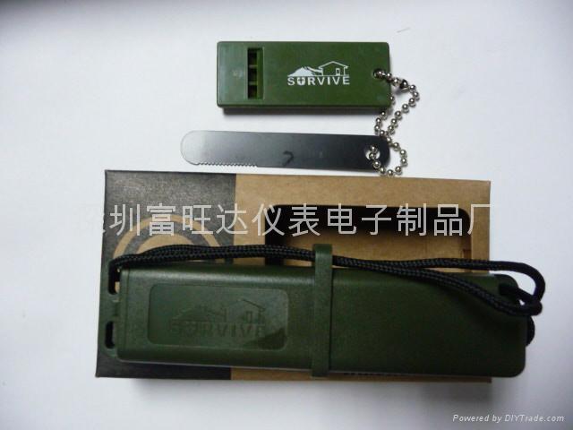 品牌戶外生存者合子打火石(軍綠色) 2