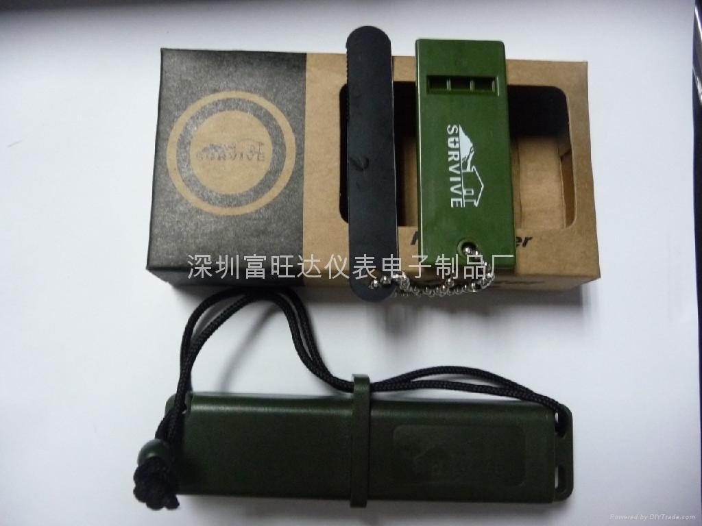 品牌生存者户外野营打火石LM-BOXflint(黑色) 1