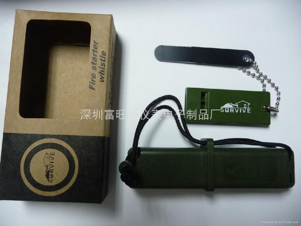 品牌生存者户外野营打火石LM-BOXflint(黑色) 2