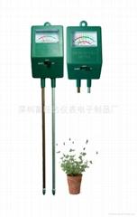 土壤濕度 酸度二合一表計