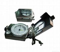 K4580高級多功能金屬戶外指南針(古銅色)