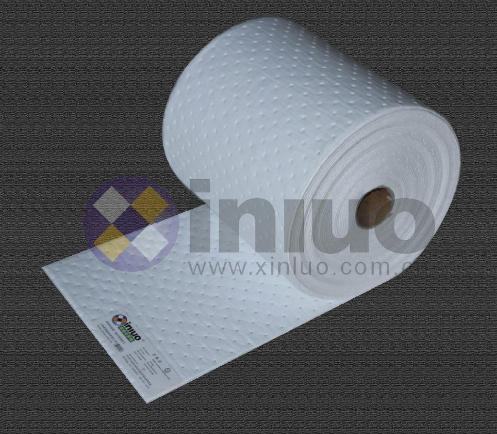 新络PS2201X轻量级节省吸油卷 40cm宽50M长走道吸油棉 预防泄漏吸油毯 10