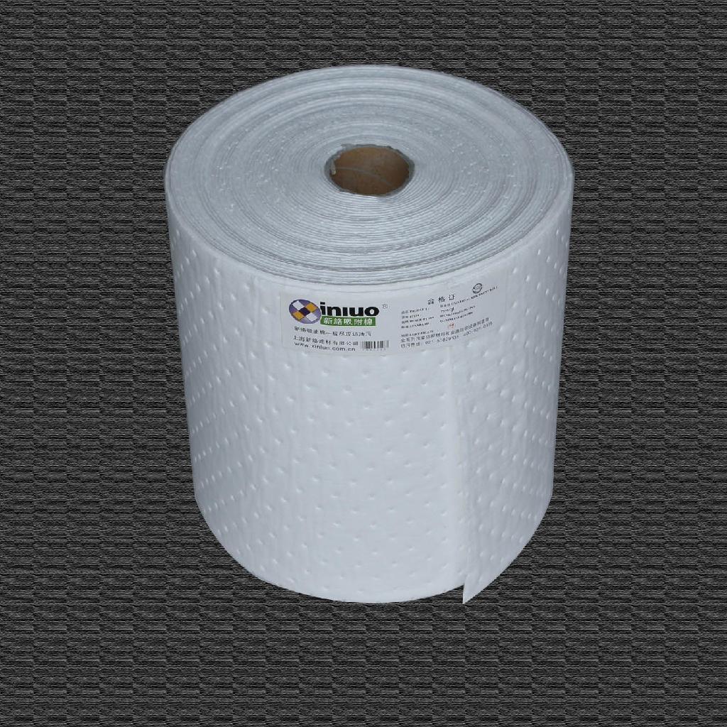 新络PS2201X轻量级节省吸油卷 40cm宽50M长走道吸油棉 预防泄漏吸油毯 11