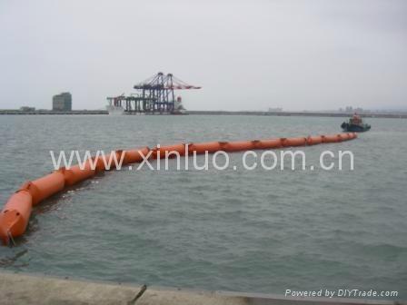 充气式PVC围油栏 2