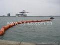 充气式PVC围油栏