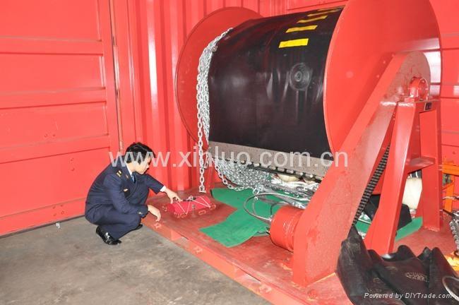 充气式PVC围油栏 3