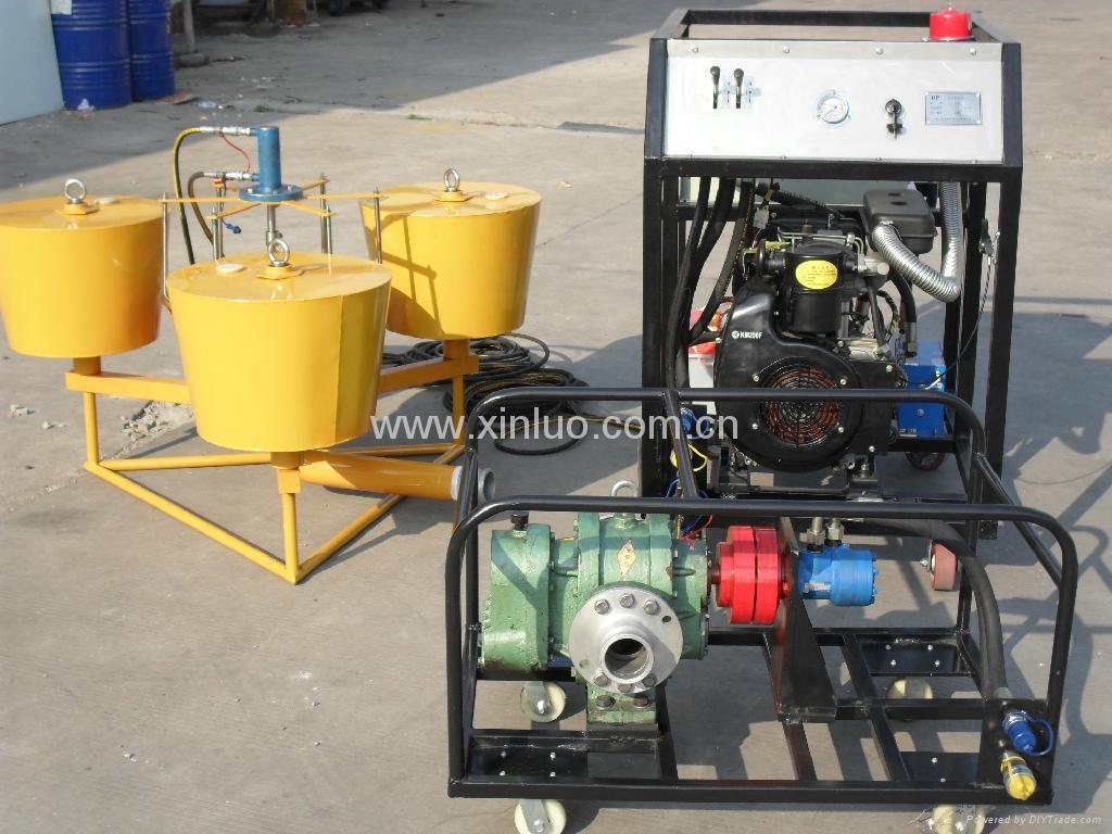 YS20堰式收油機 1