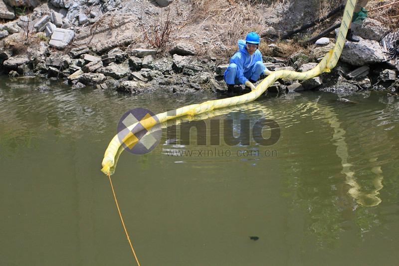 新络5203吸油拖栏水面拦截围油绳条状吸油棉拦油栅  11