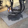Ningbo absorbent cotton pad manufacturers Xinlu brand gray workshop maintenance suction liquid cotton absorbent pad