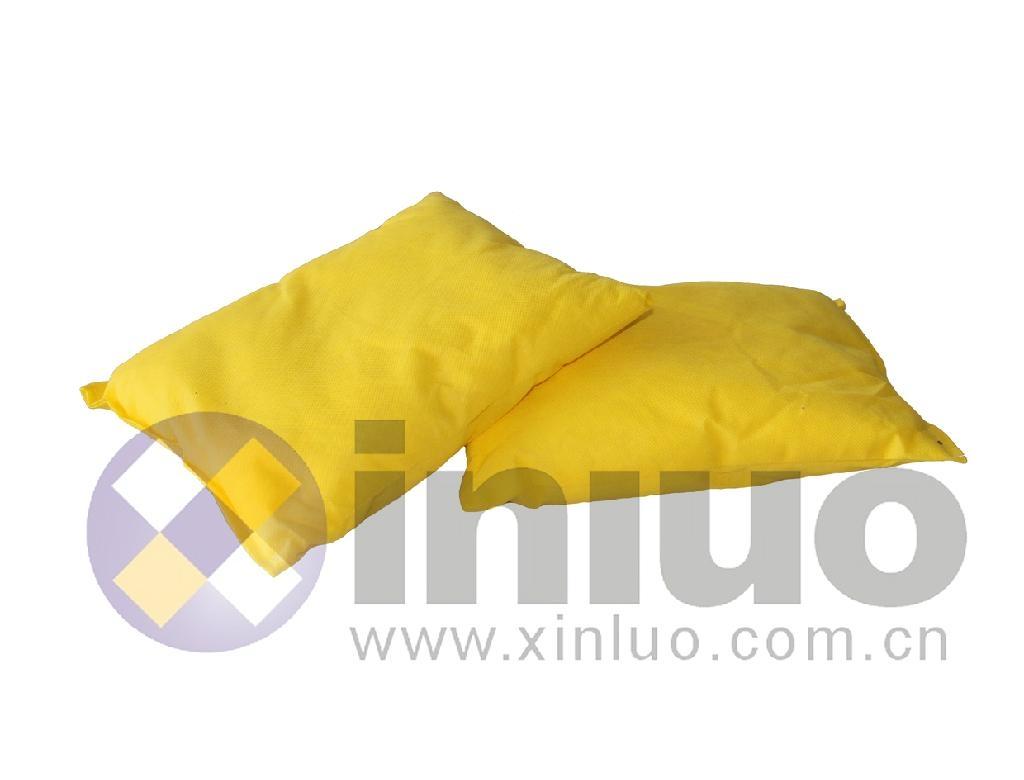新络H9425危险化学品吸收枕黄色多用途吸收枕 5