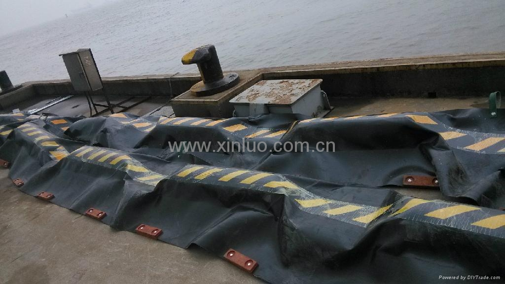 WGJ1000固体浮子式橡胶围油栏 3