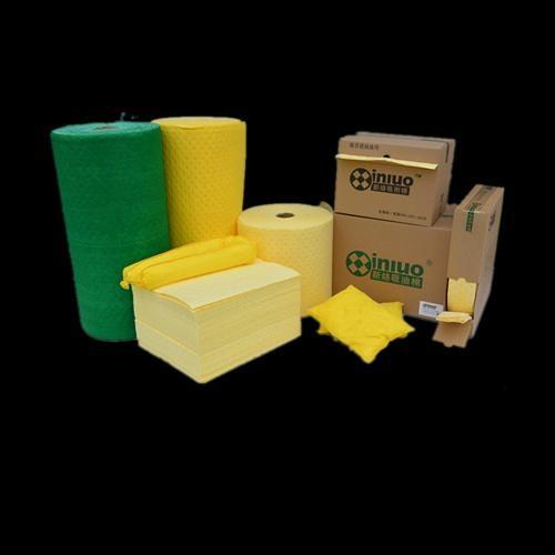 PSL92352X化工廠實驗走道鋪設吸收化學危害品吸收棉 7