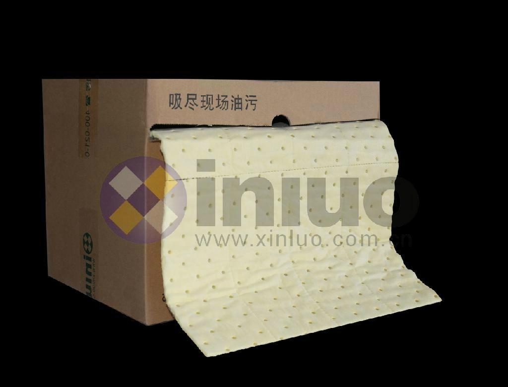 新絡XLH94018多撕線化學品萬用吸收卷多用途危害品吸收棉 9