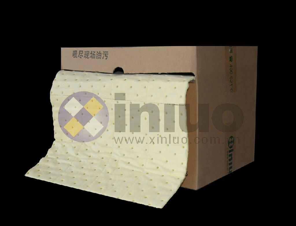 新絡XLH94018多撕線化學品萬用吸收卷多用途危害品吸收棉 8