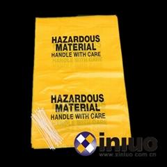 新络S15291危害品回收袋化工厂实验室防化袋危害品垃圾袋