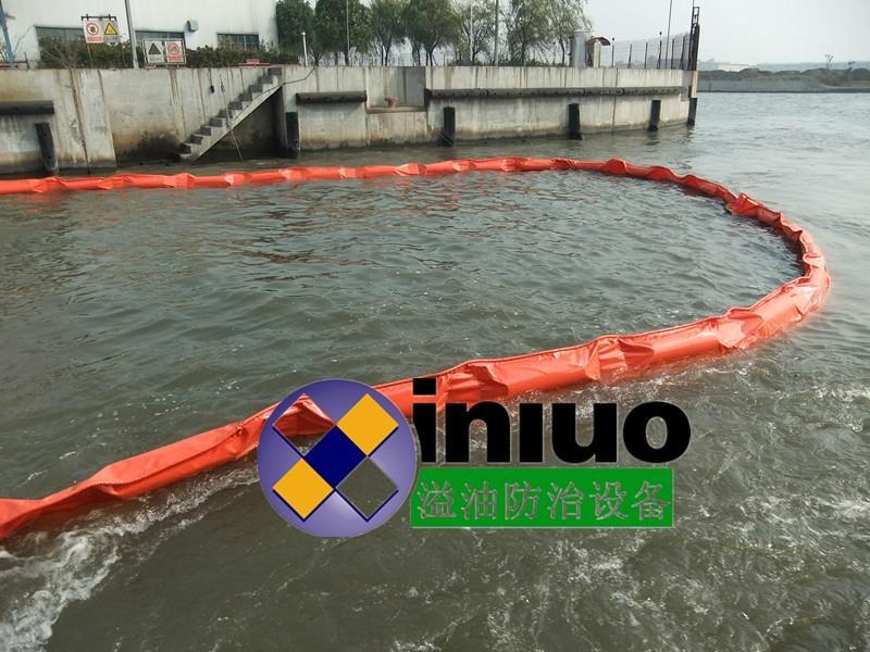 PVC600固体浮子式PVC围油栏 1