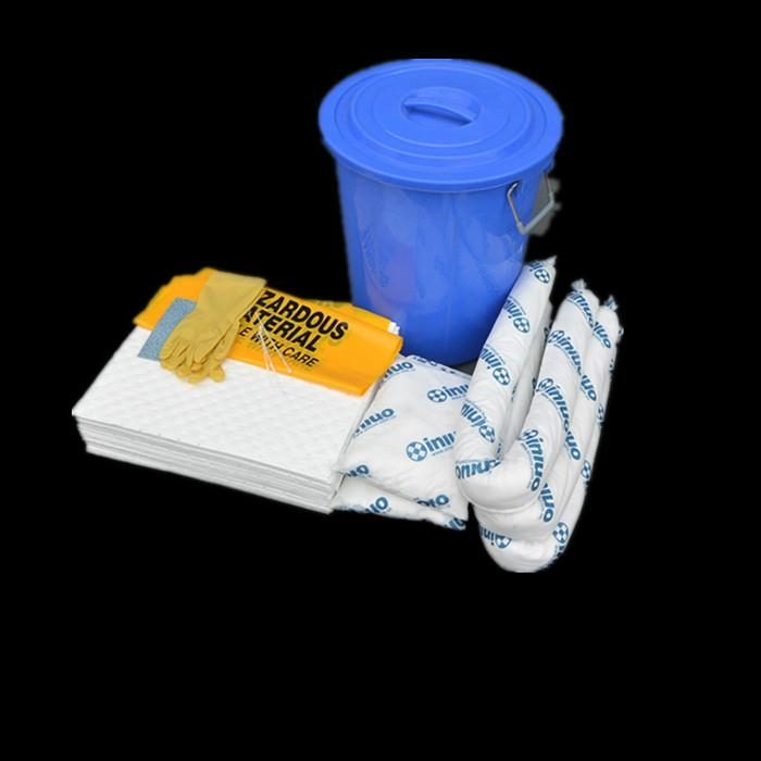 新絡KIT64溢油組合套裝 64L包裝桶裝應急吸油組合套裝 1