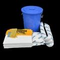 新络KIT64溢油组合套装 64L包装桶装应急吸油组合套装 3